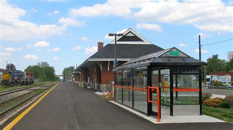 Via Rail Kitchener by Kitchener Railway Station
