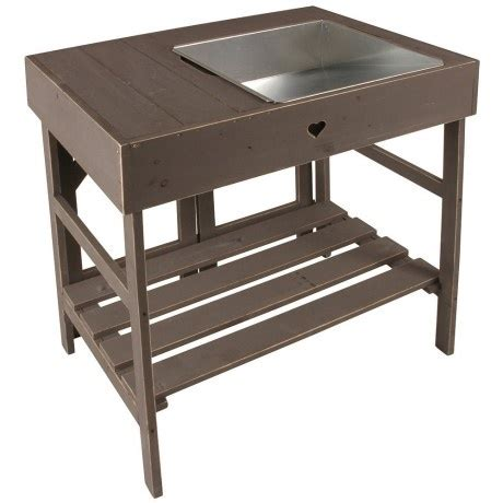 wooden potting benches wooden potting table potting sheds pinterest