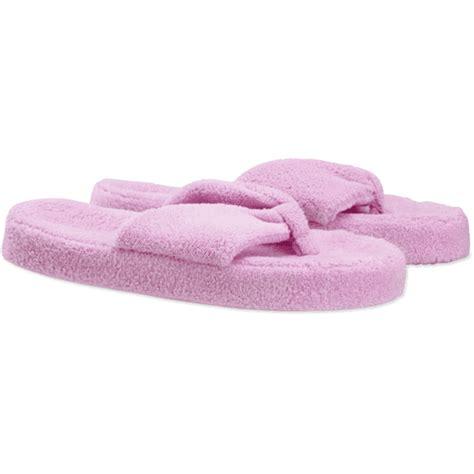 plush slippers for day plush flip flop slipper