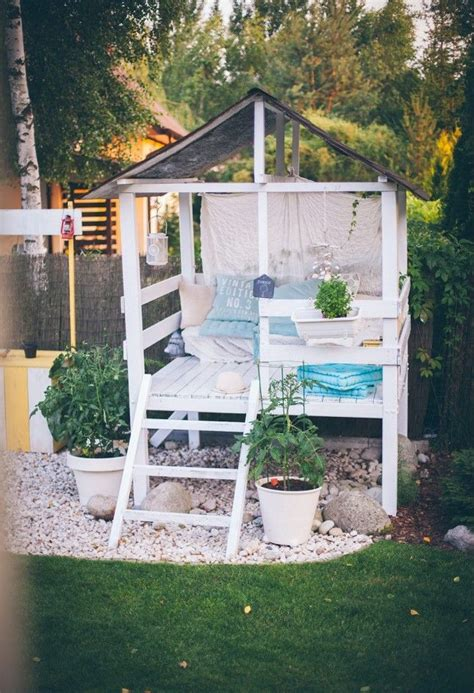 backyard playhouse ideas the 25 best garden playhouse ideas on wooden