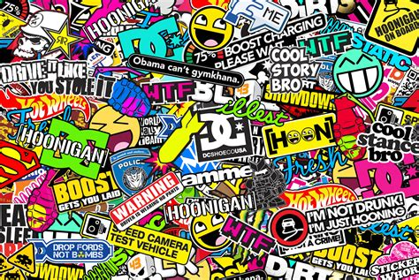 wallpaper stickers sticker bomb wallpaper hd wallpapersafari