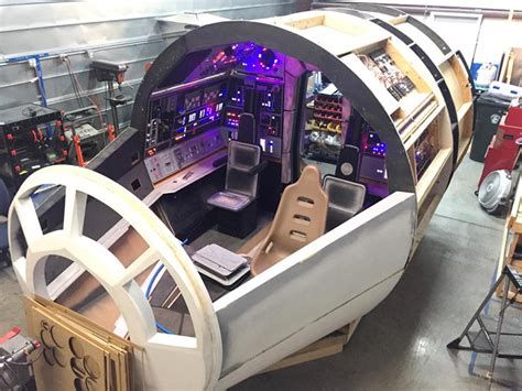 star wars fans spent  years building  full size