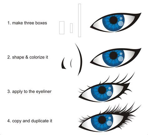 tutorial vector corel draw menggambar mata tutorial coreldraw cara menggambar mata tips okey