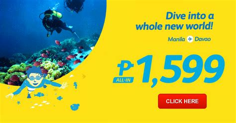 cebu pacific promo manila to davao 2016 2017