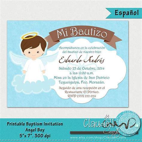 Invitaciones De Bautizo Para Nino by Baptism Boy Printable Invitation Card Invitaci 243 N Bautizo Ni 241 O Boys And Baptisms