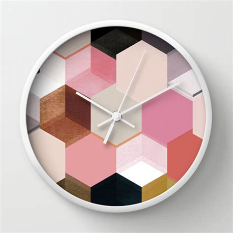 wall clock designs 8 creative wall clock designs from society6 design milk
