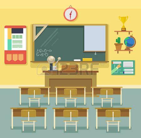 layout de un salon de clases empty school classroom clipart clipground