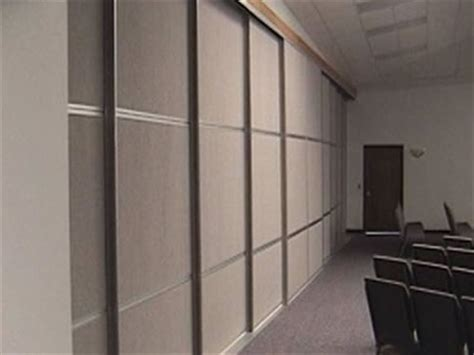 commercial sliding room dividers panel systems