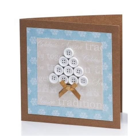 craft card ideas button tree card craft ideas inspirational projects