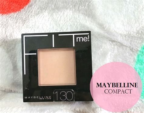 Maybelline Pressed Powder maybelline fit me pressed powder review swatches buff beige