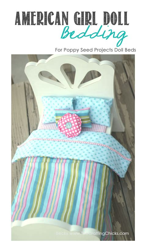 how to make an american girl doll bed poppy seed projects guest post american girl doll bed