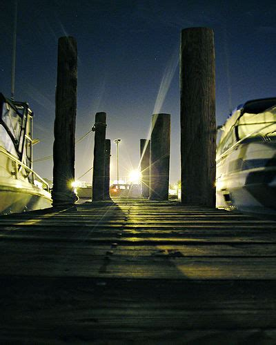 1 Light Second In Kilometers by Dock Lights Walk Towards The White Light Second Prize