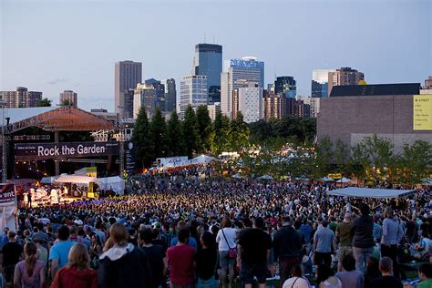 Rock The Garden Minneapolis Rock The Garden 2014 Lineup Announced