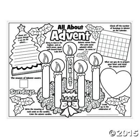 christian advent coloring pages paper color your own all about the advent posters