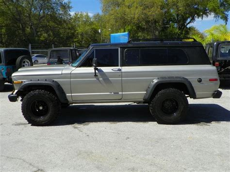 wide jeep 1979 jeep sj chief wide for sale