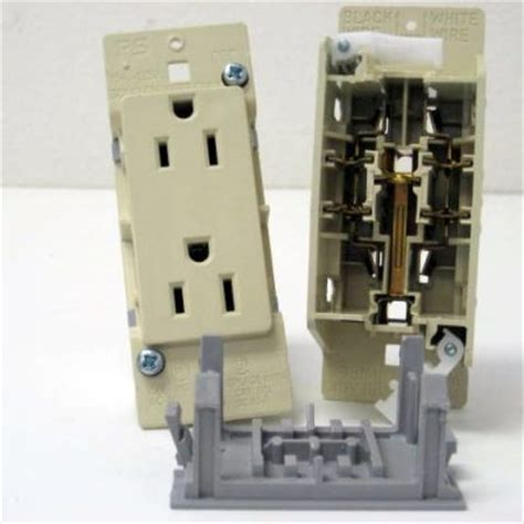 Mobile Home Light Switch by E 111 Ivory Self Contained Toggle Light Switch With Plate