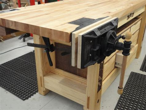 how to install a bench vise emmert vise install by john43 lumberjocks com