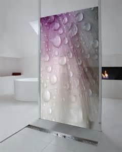 frisches duschen fotodesign glasduschw 228 nde f 252 r visuelle frische im bad