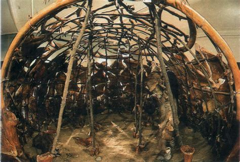 hutte en os de mammouth le cr 233 puscule des mammouths