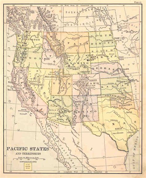 indian territory map united states pacific states 1886 indian territory etc antique map