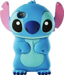 decken besticken custodia cover lilo stitch 3d per apple iphone 5 e