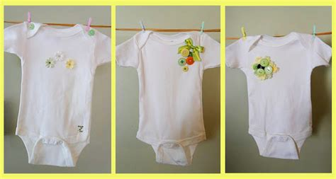 Plain White Onesies To Decorate by White Blossom A Baby Shower To Remember