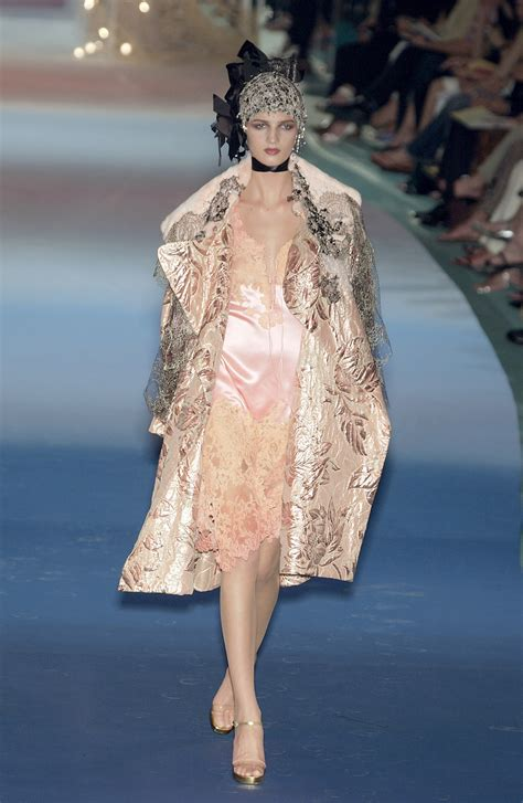 Runway Report Christian Lacroix Couture by Christian Lacroix At Couture Fall 2003 Livingly