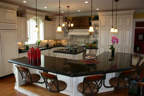 granite kitchen islands with breakfast bar decoration captivating kitchen with island and breakfast