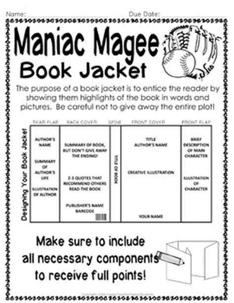 maniac magee book report maniac magee project creat by