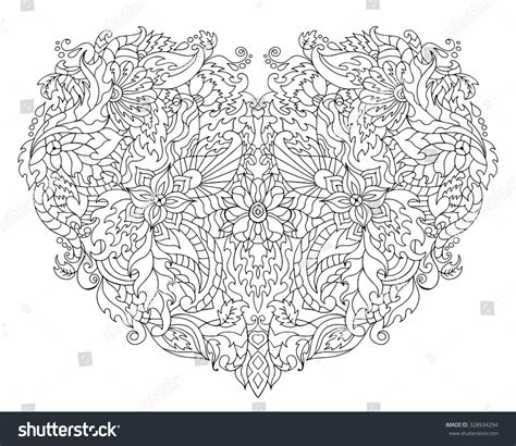 balance anti stress coloring zentangle balance and stress relief coloring book for adults anti stress stock vector 328934294