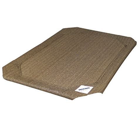 coolaroo elevated pet bed coolaroo elevated pet bed replacement cover large nutmeg