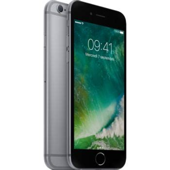 iphone 6 32go apple iphone 6s gris sideral 32go smartphone boulanger