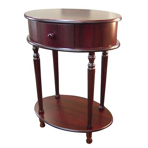 side accent tables ore international oval side table by oj commerce h 114
