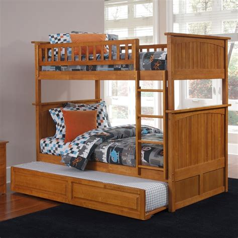 cottage style bunk beds nantucket cottage style bunk bed and trundle dcg stores