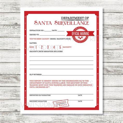printable warning letter from santa 9 best letters from santa images on pinterest christmas