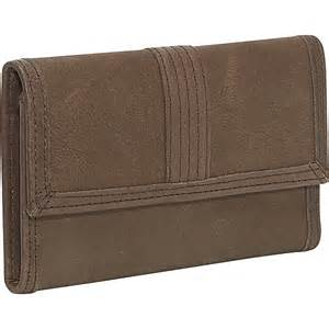 rolf s wallets rolfs checkbook wallet brown clutch