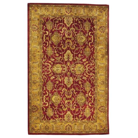 Rugs Home Decorators Collection | home decorators collection rochelle red 7 ft 6 in x 9 ft
