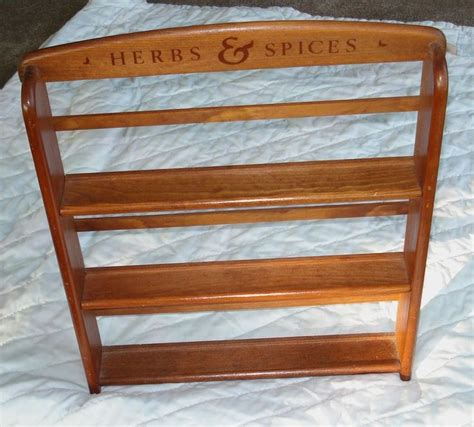 Spices Shelf by Mccormick Wooden 3 Shelf Spice Rack Quot Herbs Spices