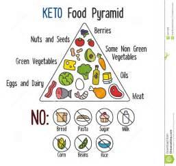 keto food pyramid stock vector image 55874898