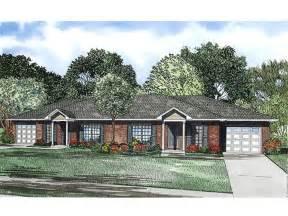Cheap Duplex Plans duplex house plans one story duplex plan 025m 0081 at