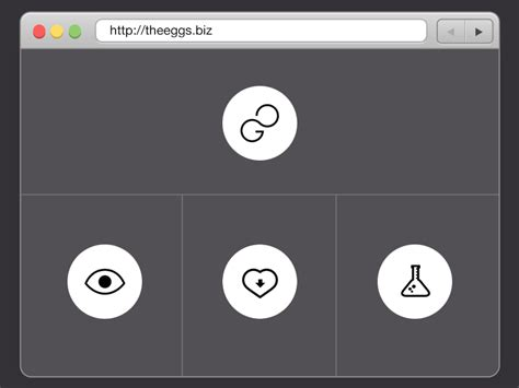 web layout animation personal website layout animation gif by claudio