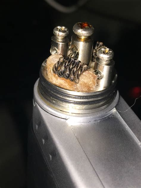 Twisted Nichrome 80 Coil 0 4 Ohm Ni80 Precoil Vapor V Murah stapled tiger coil 2 pieces of 8 ribbon wire fused with