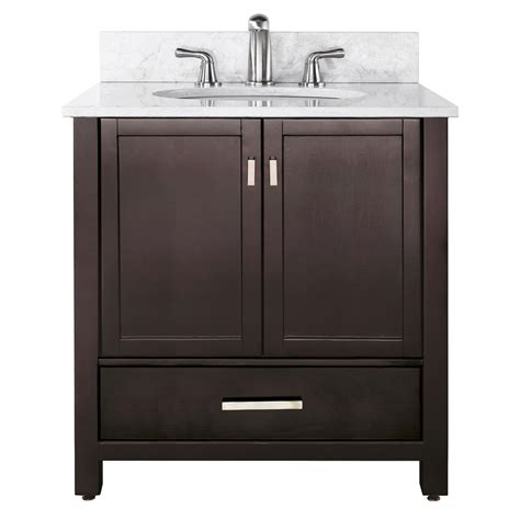 Vanity Cabinets For Bathrooms 36 Quot Modero Bathroom Vanity Espresso Bathroom Vanities Bath Kitchen And Beyond