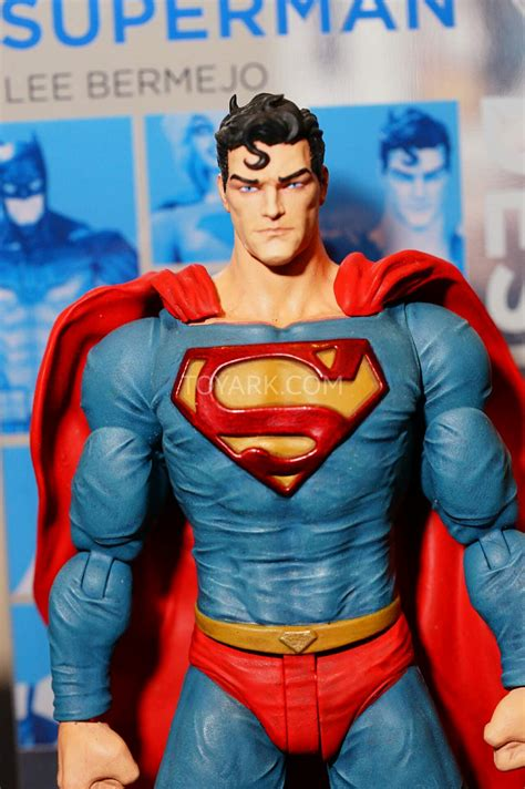 Superman Bermejo Dc Comics Figure sdcc 2015 dc collectibles designer series reveals the toyark news