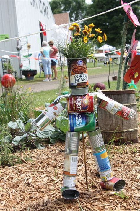 8 Best Recycled Scarecrows Images On Pinterest Recycling Ideas For The Garden