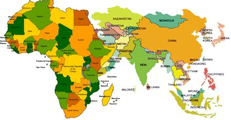 map of europe and africa with countries map of africa and asia mexico map