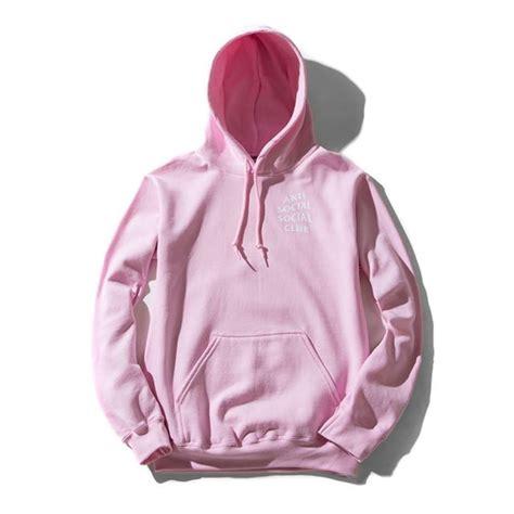 Sweater Hoodie Hoodie Anti Social Social Club Pink C3 anti social social club you better pink hoodie 577943 from mohammad at klekt