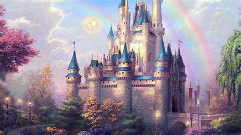 ap fantasy castle illustration cute disney wallpaper