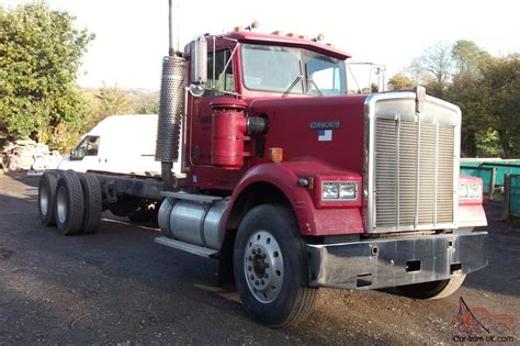 kenworth for sale uk 1987 kenworth 900 cab and chassis