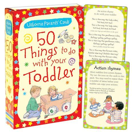 50 Things To Do With A Book 50 things to do with your toddler scholastic club
